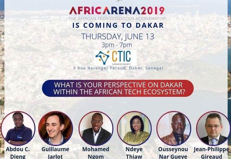 AfricArena Tour 2019: Compétition de pitchs en direction de la finale à AfricArena Summit 2019