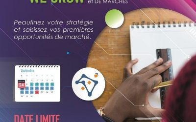 "Appel à candidature au programme d'accélération ""We grow"""