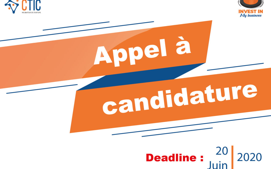 """Appel à candidatures """"Invest in my Business"""""""